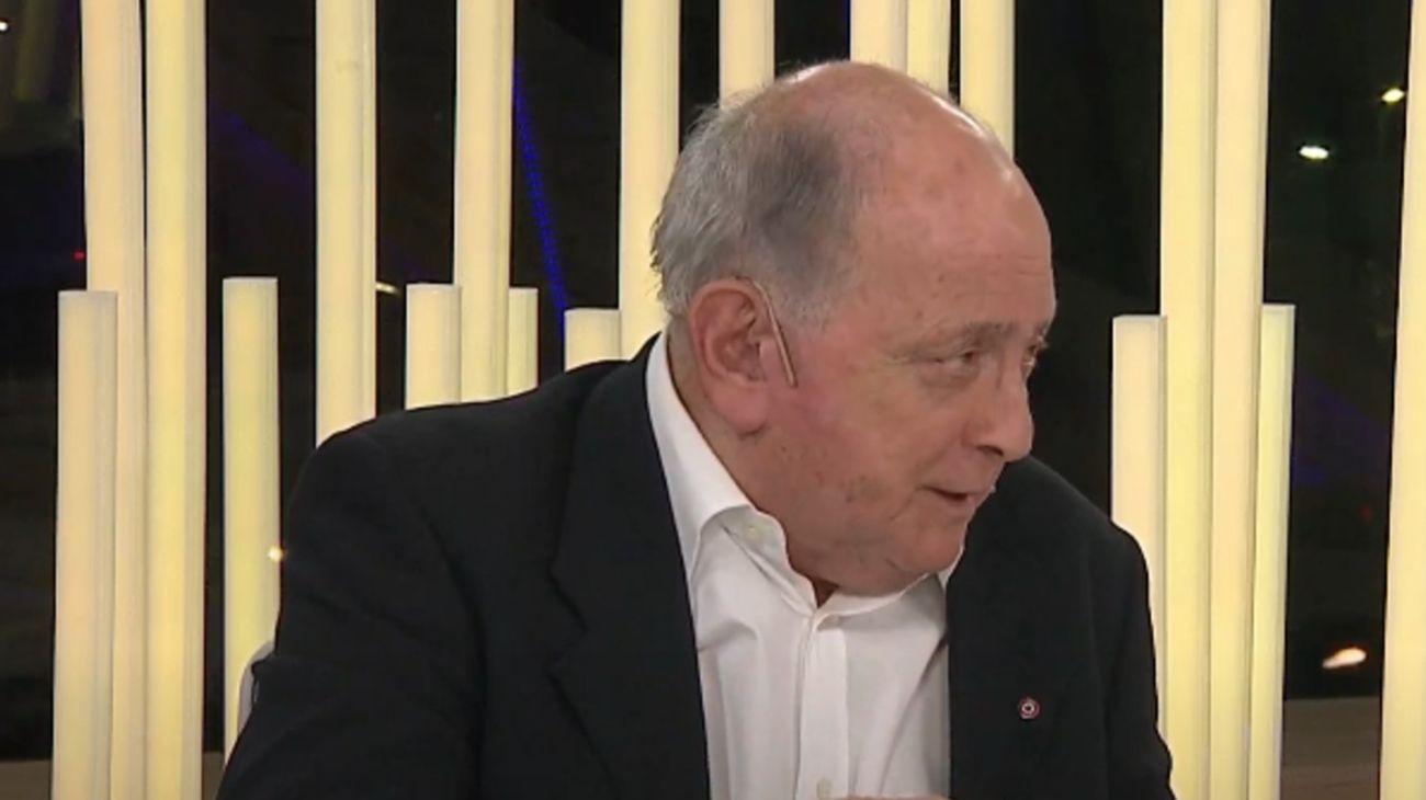 El periodista y conductor de televisión argentino, Chiche Gelblung.