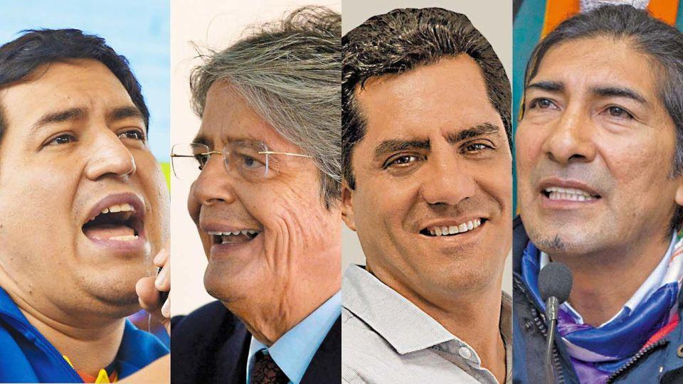 Ecuador. El país, muy golpeado por la pandemia, va hoy a las urnas. Los cuatro principales candidatos: Andrés Arauz, Guillermo Lasso, Xavier Hervas y Yaku Pérez.