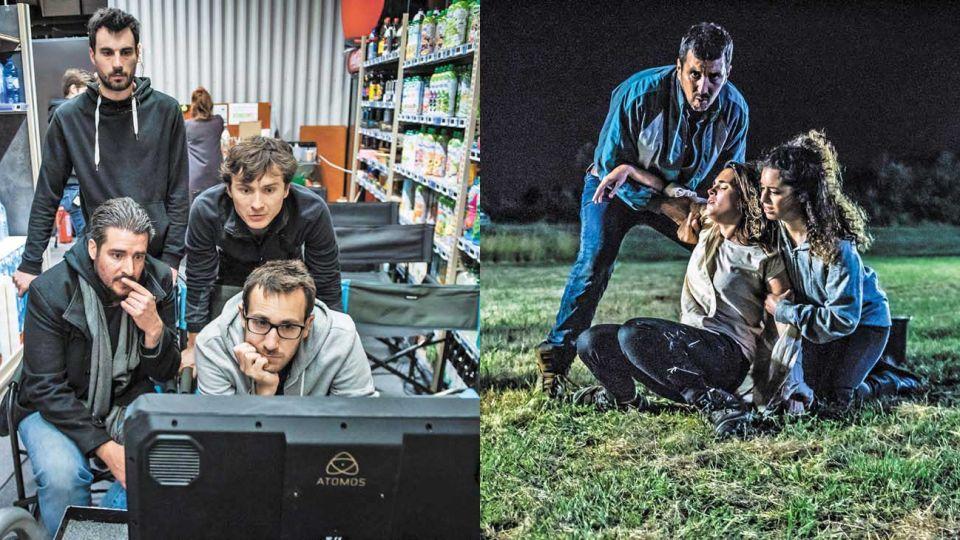 Trabajo. El colectivo francés Les Parasites son los responsables detrás de esta serie que sacudió al mundo.