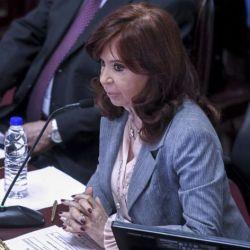 La vicepresidente Cristina Fernández de Kirchner