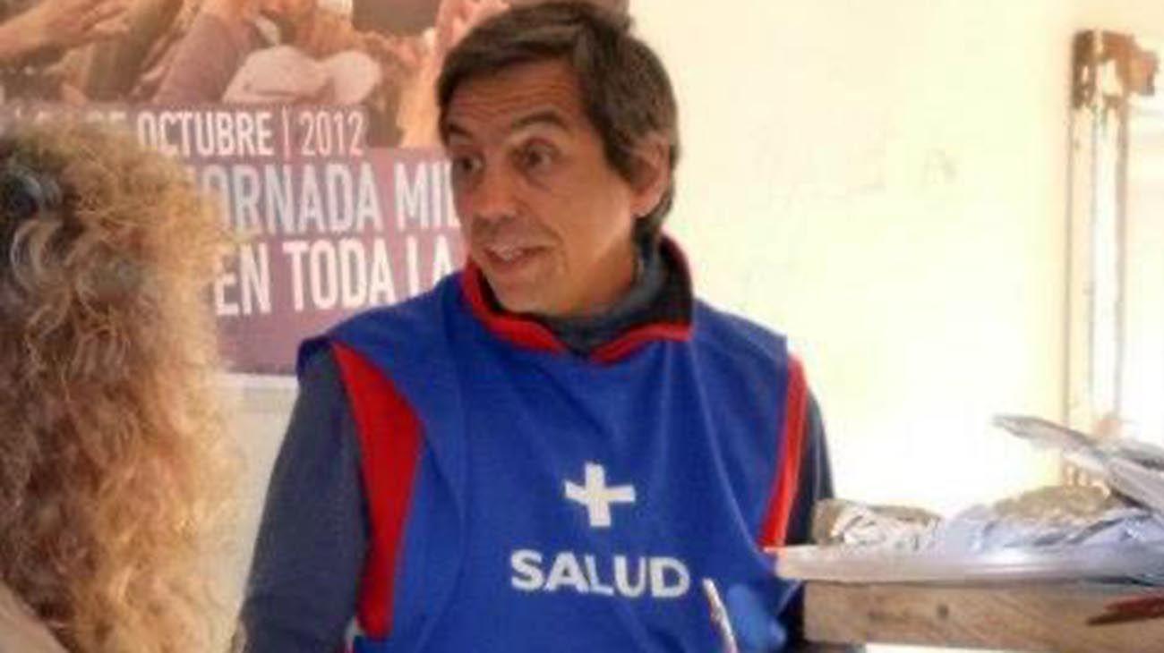 Eduardo Chantada, abogado y militante de la agrupación La Cámpora