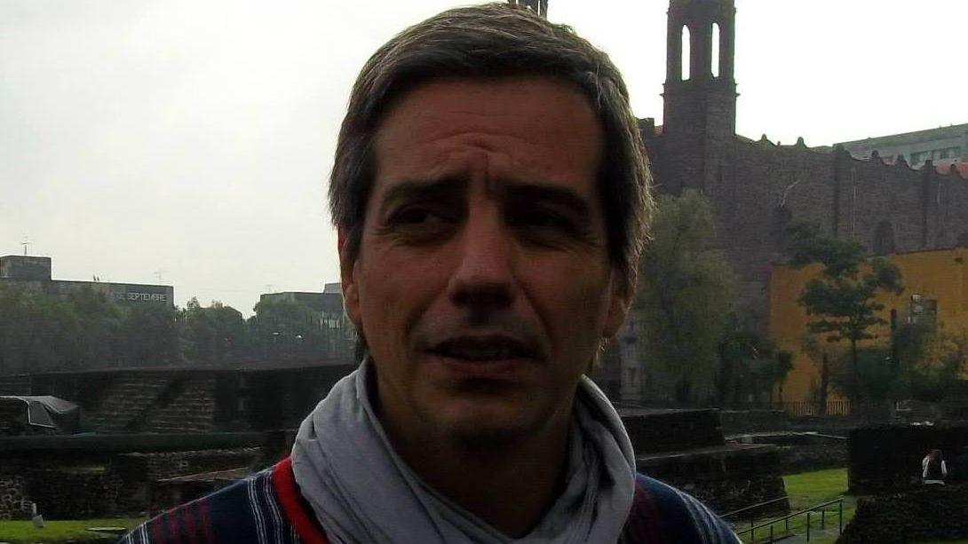 Eduardo Chantada, abogado y militante de la agrupación La Cámpora.