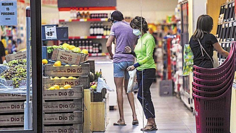 Inflación en alimentos.