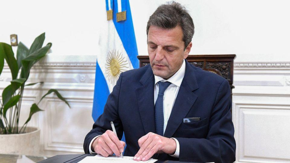 El diputado Sergio Massa impulsa el proyecto.
