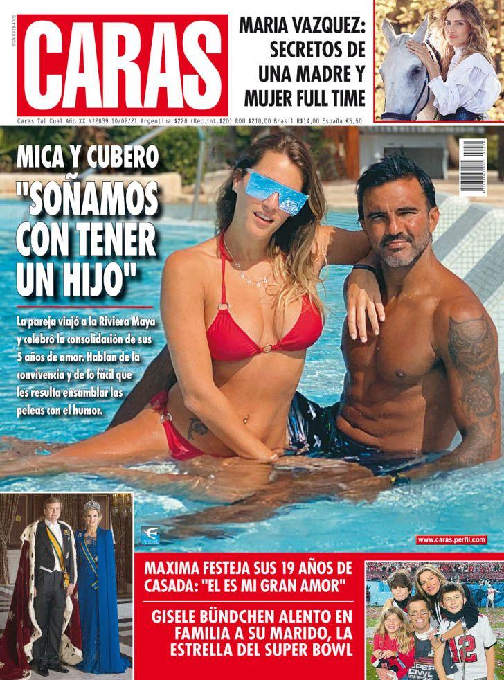 """MICA Y CUBERO: """"SOÑAMOS CON TENER UN HIJO"""""""