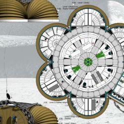 Para su diseño, los especialistas tuvieron en cuenta tanto la supervivencia y el confort de los astronautas.