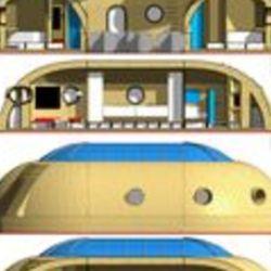 Se trata de un gran espacio modular que se adapta a las inclemencias de la Luna.