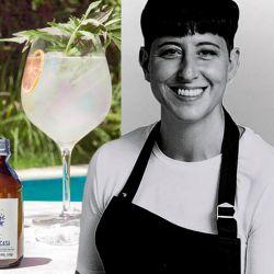Gin Tonic del Oeste: Un trago que reúne gin con almíbar de huacatay, una hierba que crece en el centro y norte del país; es el favorito de Inés de los Santos. | Foto:cedoc