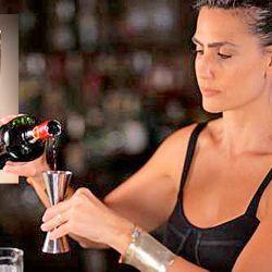 Indecent: La propuesta de Mona Gallosi a base cognac y vodka con notas de ananá. | Foto:cedoc