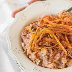 El risotto de quinoa según Tefi.