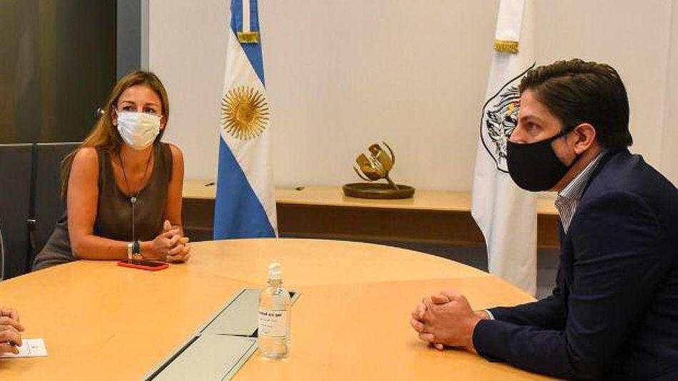 Soledad Acuña y Nicolás Trotta Ministros de Educación 20210209