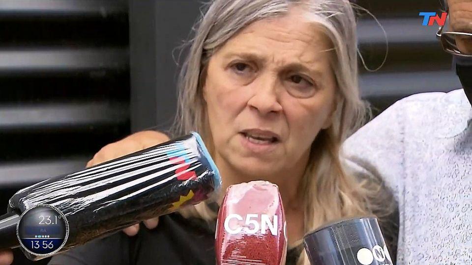 Patricia, madre de Úrsula Bahillo.