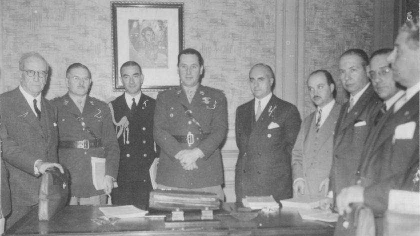 CONSEJO. Fue la estrategia de Juan Perón para uno de los momentos más complejos del país. FOTO: CEDOC PERFIL