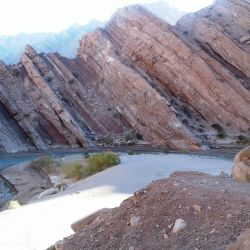 Río La Troya, camino a Laguna Brava.