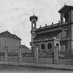 Rápidamente, las casas de veraneo se fueron apoderando de la ciudad.