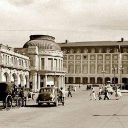 Vista de La Rambla a principios de 1900.