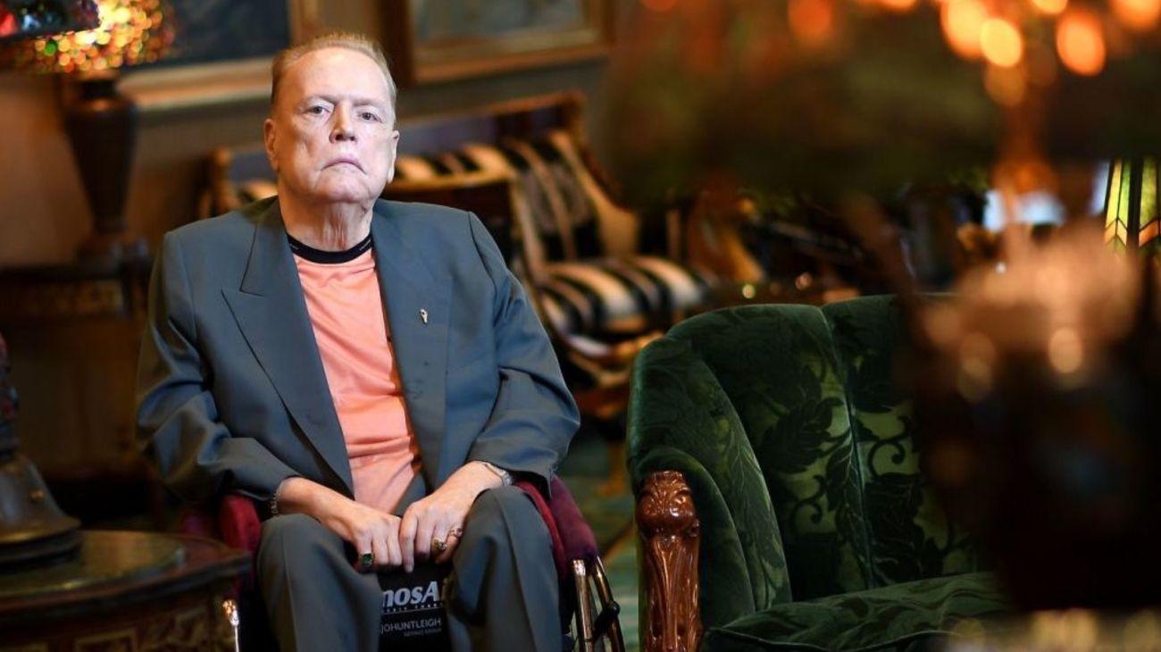El fundador y editor de la revista Hustler, Larry Flynt.