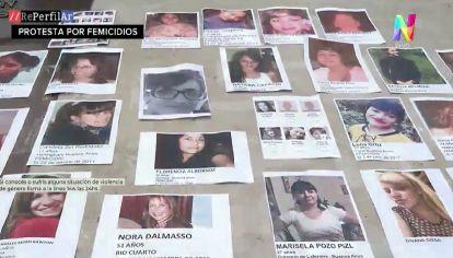 #NiUNAMÁS: así fue la marcha de los familiares de victimas de femicidios