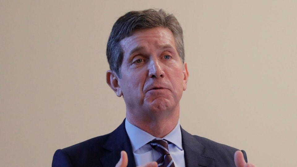 El director ejecutivo de Johnson & Johnson, Alex Gorsky.