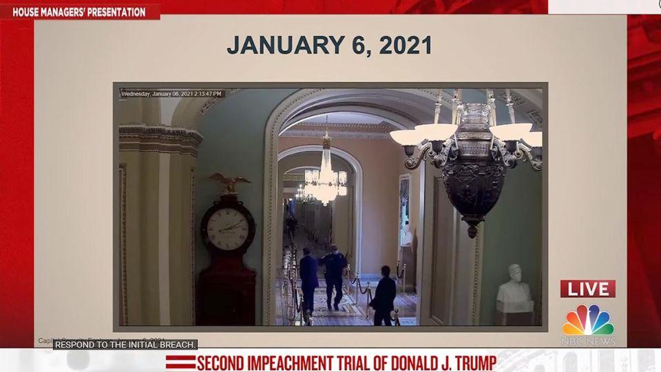 Revelan nuevas imágenes de la toma del Capitolio en EEUU