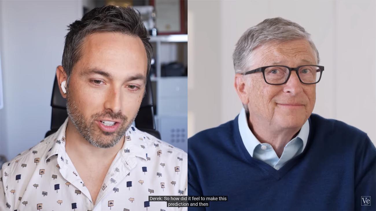 Bill Gates dice que el cambio climático y el bioterrorismo son ahora las mayores amenazas para la humanidad