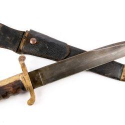 Dahlgren logro revolucionar nuevamente la marina al fabricar conjuntamente con la fábrica de armas Ames Manufacturing Co de la ciudad de Chicopee, Massachussets, la primera bayoneta con hoja de cuchillo.