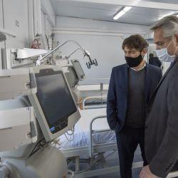 Alberto Fernández inaugura ampliaciones de hospitales modulares de la costa atlántica