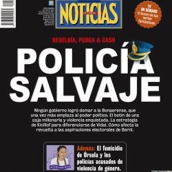 Tapa Nº2303: Policía salvaje | Foto:Pablo Temes