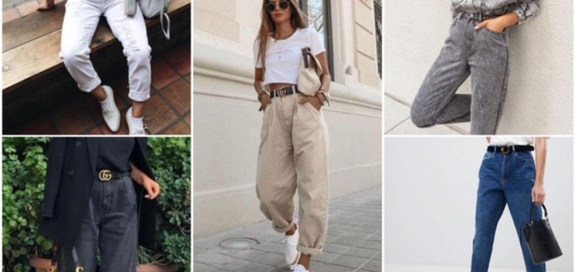 Mom jeans y slouchy jeans: estos son los colores que no pueden faltarte en tu closet