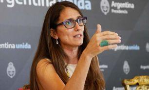 Ministra de las Mujeres, Géneros y Diversidad, Elizabeth Gómez Alcorta