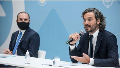 Santiago Cafiero se reunió en Casa Rosada con empresarios.