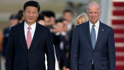 Xi Jinping y Biden
