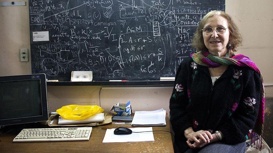 Una matemática argentina entre las cinco ganadoras del premio mundial 20210211