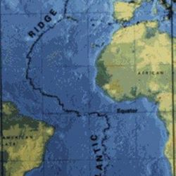 Los datos obtenidos proporcionaron la primera imagen a gran escala y de alta resolución del manto debajo de la Cordillera del Atlántico Medio.