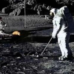 La pelota de golf usada por Shepard en la Luna estaba perdida desde el 6 de febrero de 1971.