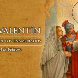 Cada 14 de febrero el mundo entero celebra el Día de san Valentín.