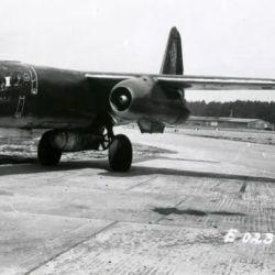 El primer prototipo despegó en junio de 1943 y para septiembre de ese año ya había 4 unidades en total volando.