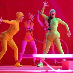 Kate Hudson y la genial Maddie Ziegler en una de las escenas de Music.