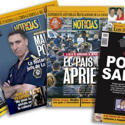 Tapas de Noticias sobre Policía Bonaerense | Foto:cedoc