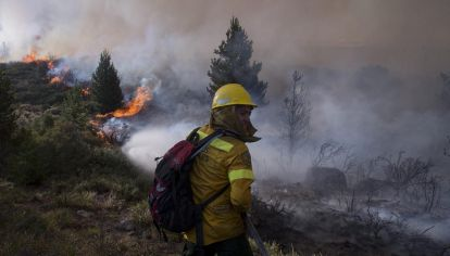 incendio en Bariloche