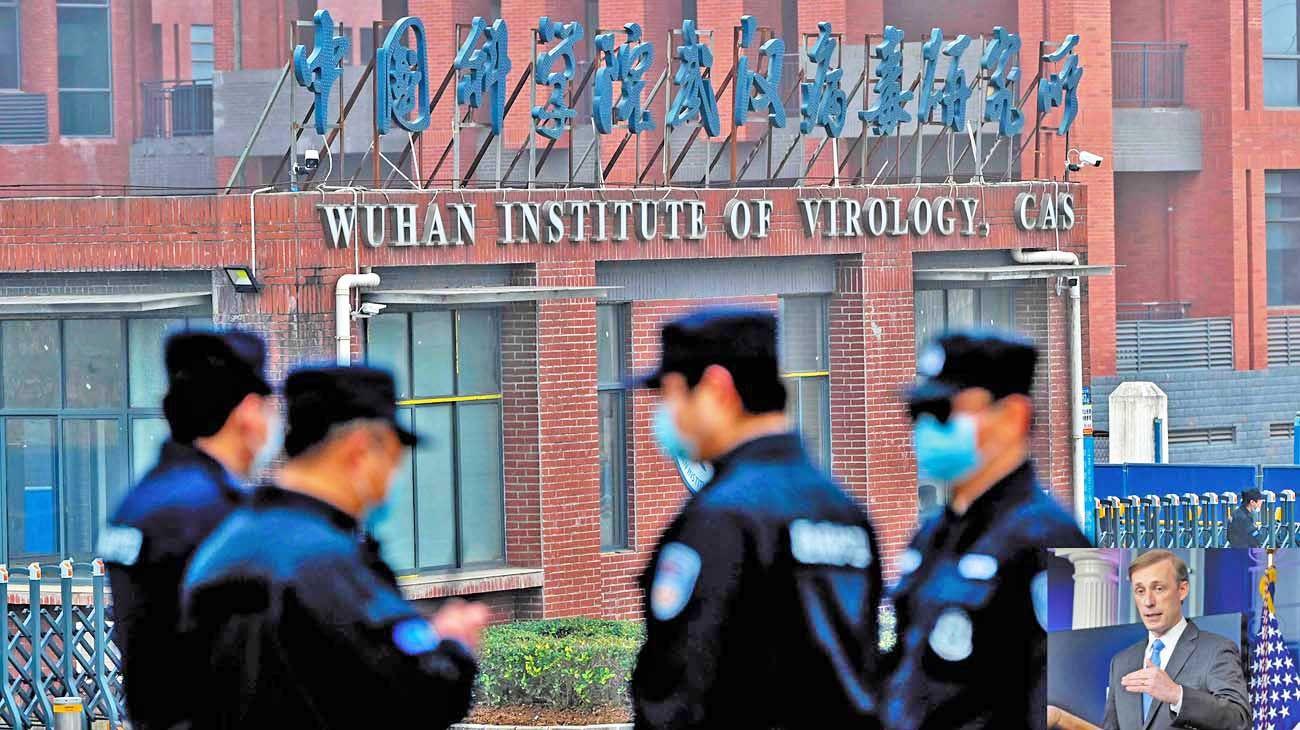 """Sede. El instituto chino blanco de dudas. Sullivan, consejero de Seguridad norteamericano, pidió una investigación """"independiente""""."""