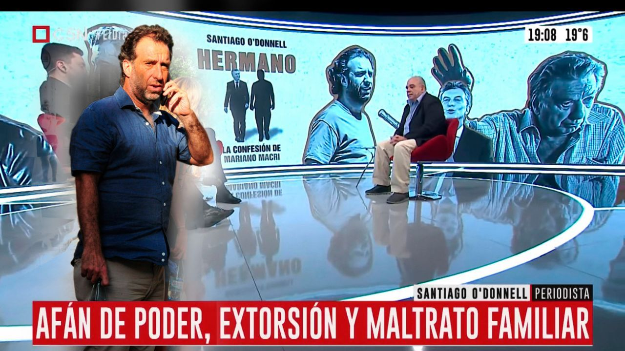 """Santiago O'Donnell por el libro """"Hermanos"""", sobre los Macri"""