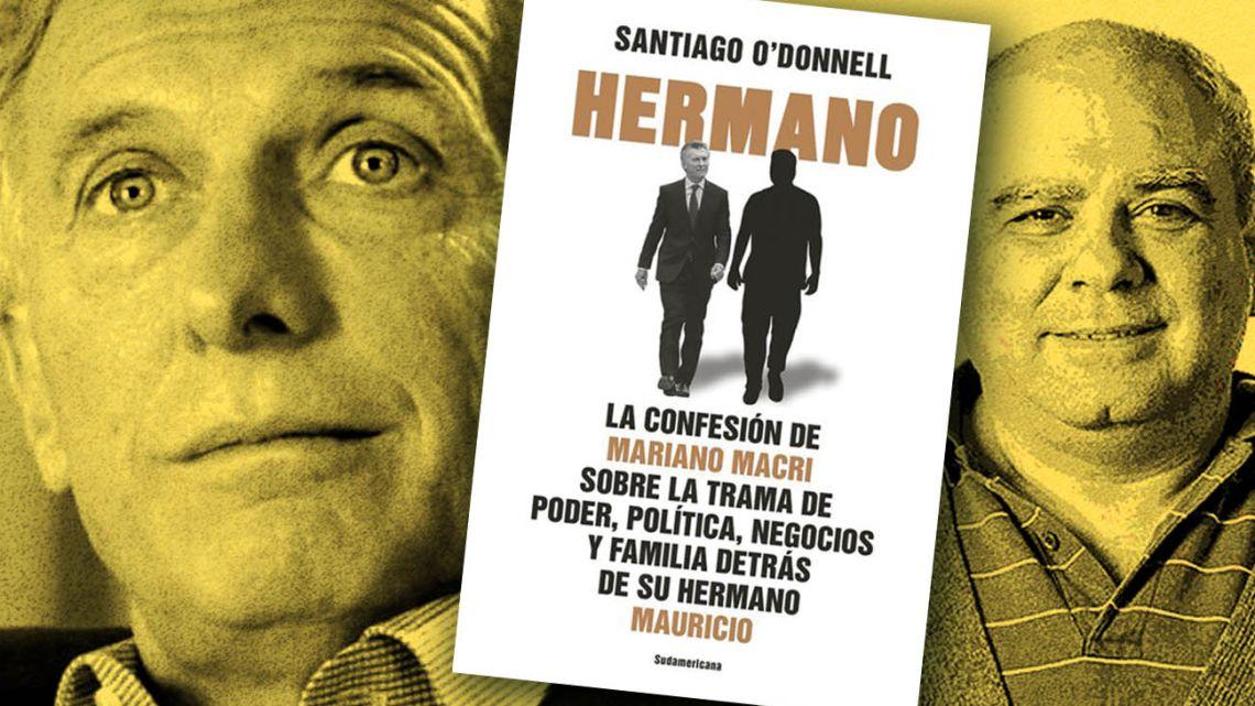 Former President, Mauricio Macri and Santiago O'Donnell, journalist.