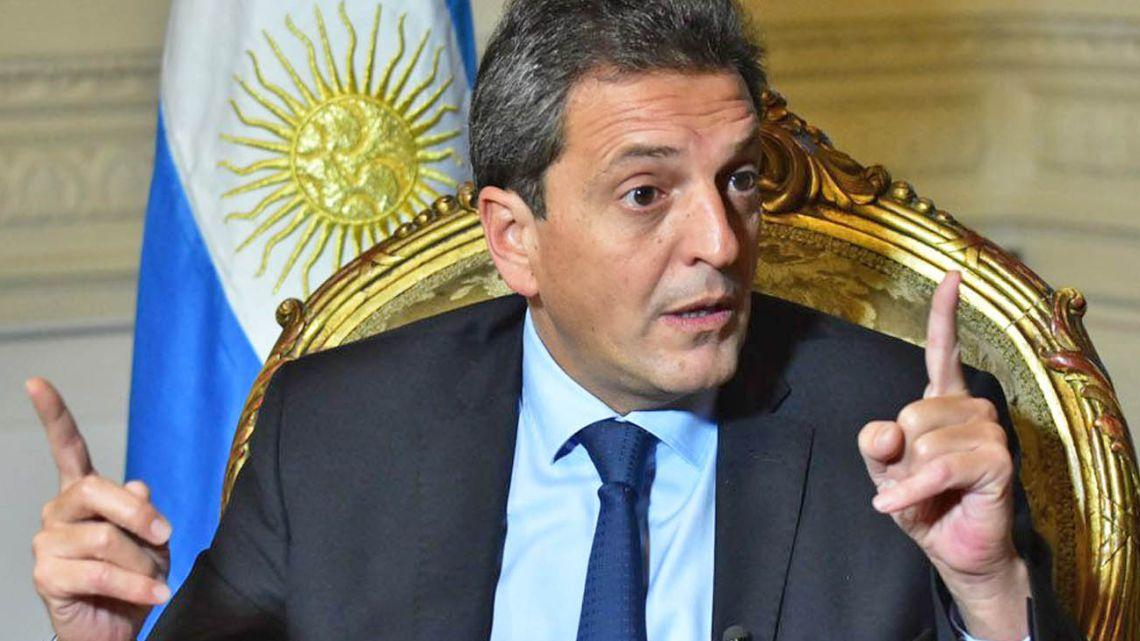 Sergio Massa, Deputy Head of Congress.