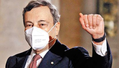 Mario Draghi, ex presidente del Banco Central Europeo.