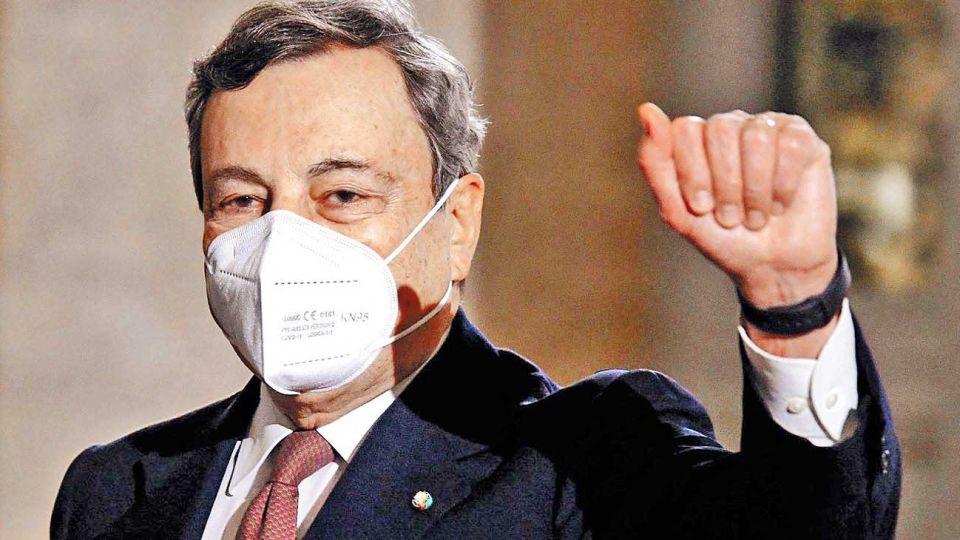 Mario Draghi, ex presidente del Banco Central Europeo.