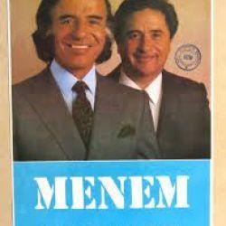 Afiches de Carlos Menem | Foto:cedoc