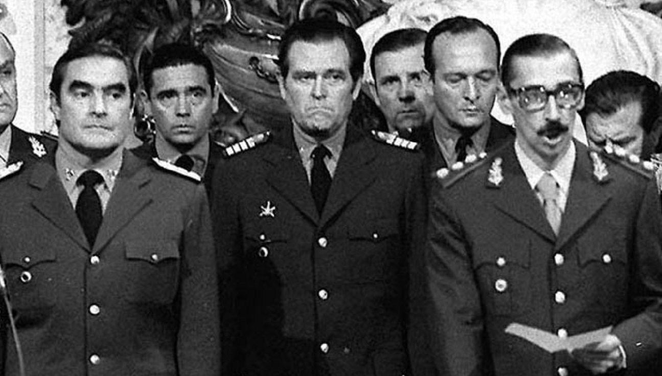 Los genocidas Jorge Rafael Videla y Eduardo Massera fueron indultados por Carlos Menem