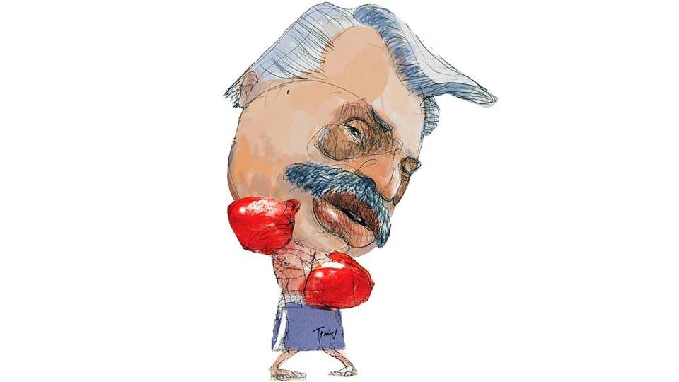 'Palo por palo' Alberto Fernandez.