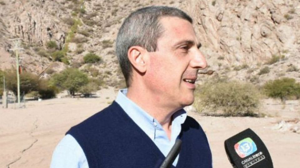 Ricardo Guerra, el reemplazante de Carlos Menem en el Senado.